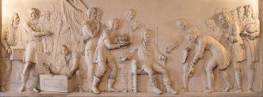 De aanbieding van de engelse kroon in 1689 aan stadhouder Willem iii