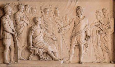 De eed van Claudius Civili tijdens de opstand tegen de romeinen