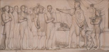 De inhuldiging van koning Willem i in 1815