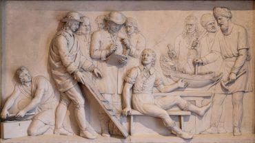 Het bezoek van de Russische tsaar Peter de Grote aan de scheepswerven in Zaandam in 1697